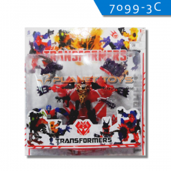 Robot Transformers Optimus Prime Set