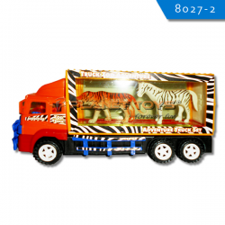 Mobil Container with 2 Animal