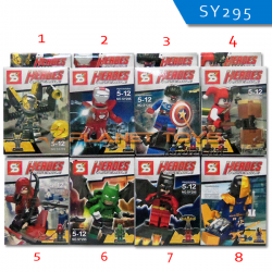 Lego Heroes Assemble Dispaly Box / Block / Puzzle