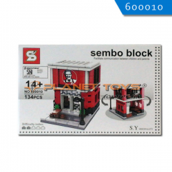 Sembo Block KFC 134 Pcs