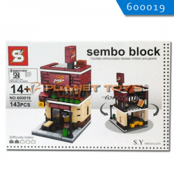 Sembo Block Pizza Hut 143pcs
